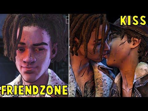 Clem Friendzone vs Kisses Louis Romance -All Choices- The Walking Dead The Final Season Episode 2