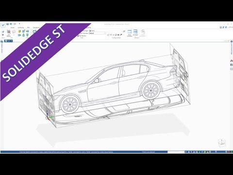 Import & Scale Images - SolidEdge ST 10 Training - Part