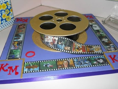 Movie Reel Cake Youtube