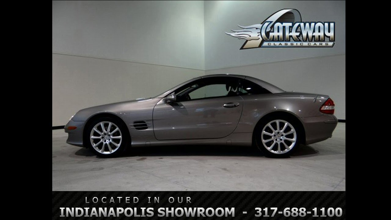2007 Mercedes Benz SL550 Convertible  #40 NDY  Gateway Classic Cars  Indianapolis