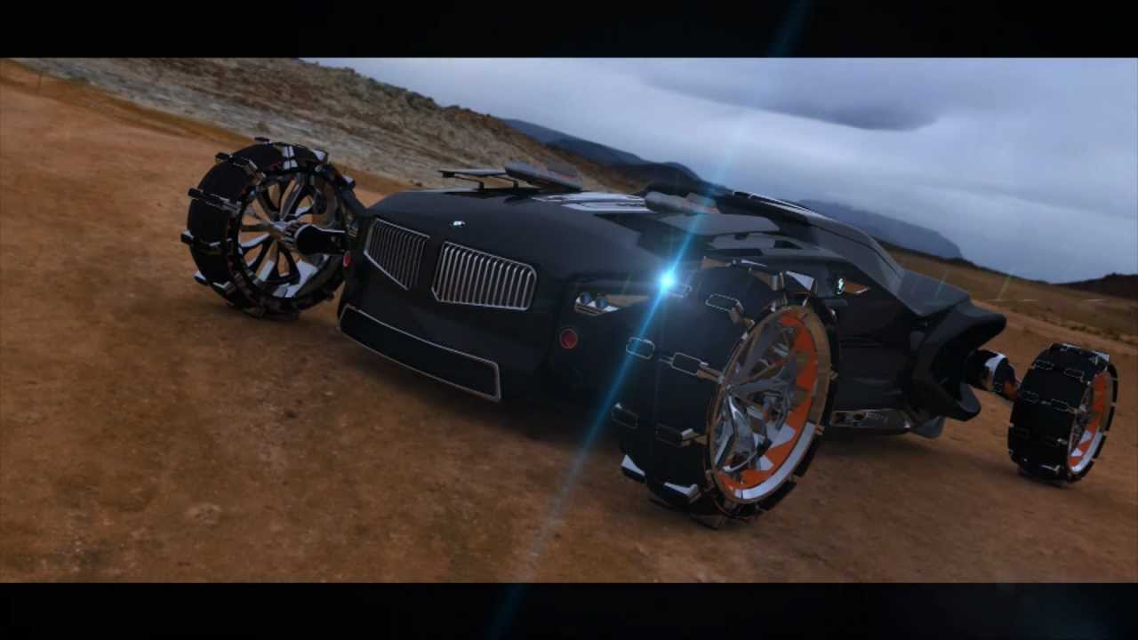 Bmw X Fighter Concept Youtube