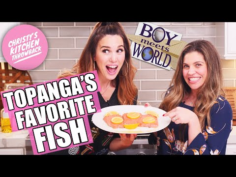 Topanga Makes Her Favorite Fish With Kim Possible!