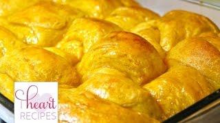 Honey Butter Sweet Potato Dinner Rolls | I Heart Recipes