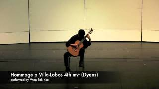 Woo Tak Kim - Hommage à Villa-Lobos IV. Tuhu (Dyens)