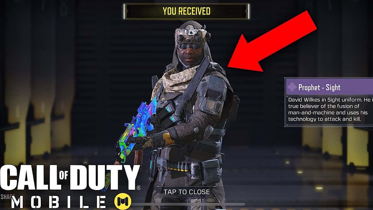 Call Of Duty Mobile Unlocking Free Epic Prophet Sight Character