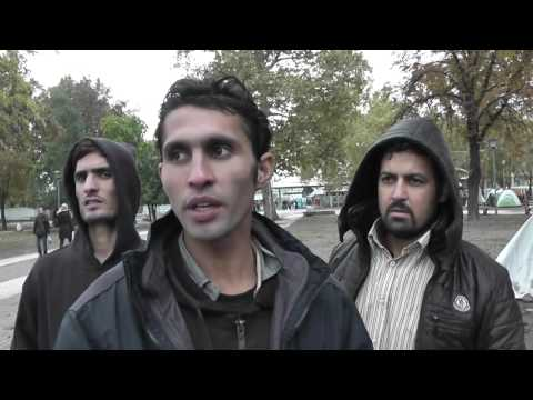 Afghans going to Austria