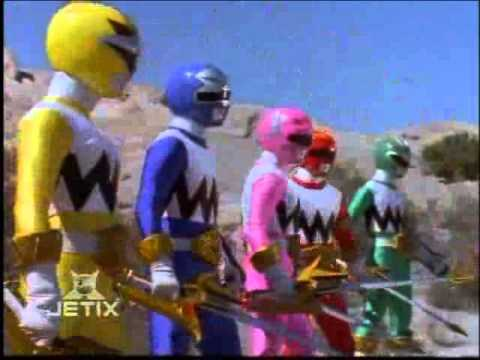 Power Rangers Lost Galaxy - Lights of Orion Transformation 2 Karone