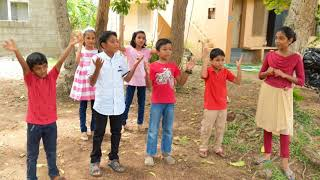 Malayalam Christian action song for children: kyiloru thappeduthu sorlogham noki