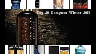 Top 20 Designer Winter Fragrances/Colognes for 2015