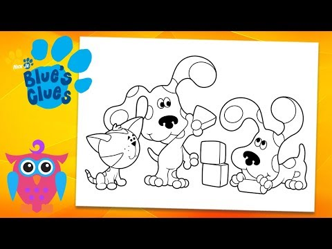 Blue\'s Clues : Cat Periwinkle | Coloring pages for kids ...