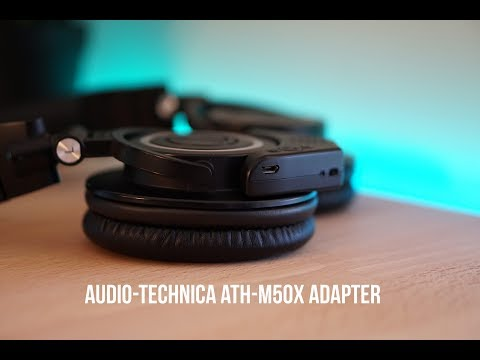 AUDIO-TECHNICA ATH-M50X'S BLUETOOTH ADAPTER 1 YEAR LATER