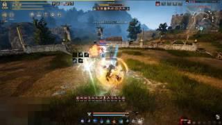 Black Desert Awakening wizard VS witch PVP   王龍