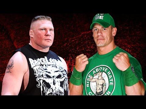 WWE No Way Out PPV John Cena VS Brock Lesnar - مصارعه حرة جديدة - مصارعه حرة جون سينا