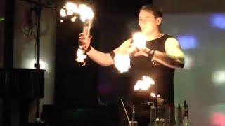 Бармен-шоу (флейринг): Евгений Асоцкий. Смотреть видео онлайн.