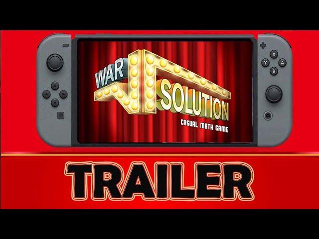 War Solution Casual Math Game Nintendo Switch