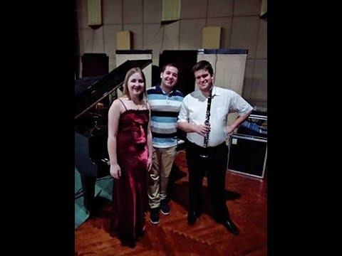 Oleksii Rybak   Sonata Rhapsody for clarinet & piano score