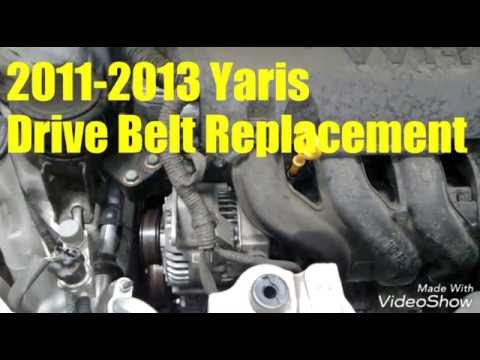 how to change drive belt