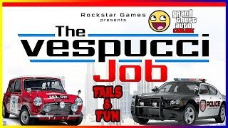 Cops & Robbers (GTA 5 Vespucci Job) (Part 1)