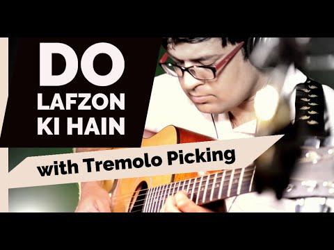 Do Lafzon Ki Hai Dil Ki Kahani | Guitar Cover by Kapil Srivastava | The Great Gambler | Tabs, Notes