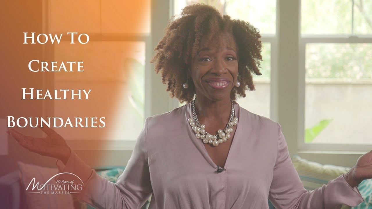 How To Create Healthy Boundaries - Lisa Nichols