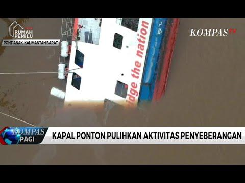 Tenggelamnya Kapal Feri Seluang Lumpuhkan Arus Transportasi