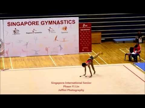 Jeffini Photography - 2014 Singapore Gymnastics International Senior Phaan Yi Lin
