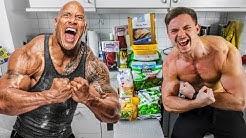 Ich esse 1 Tag lang wie The Rock (und trainiere wie er)