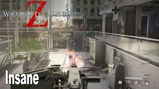 World War Z - Insane Difficulty Attempt on Descent [HD 1080P]