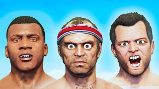 GTA 5 - Who's got the Strongest Bench press?