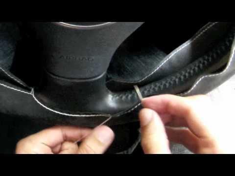 Racing Feeling Steering Wheel Cover Installation