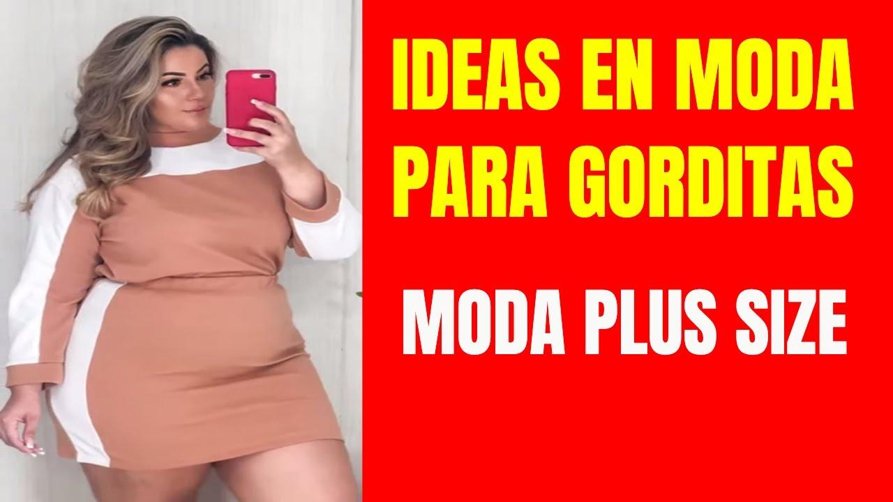 MODA PLUS SIZE CON IDEAS EN ROPA PARA GORDITAS PARA VESTIR LINDAS