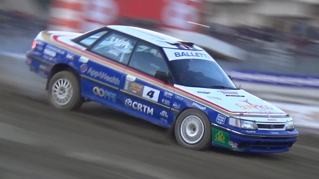 Subaru Legacy Rs Rally Group A In Action Raw Boxer Rumble Sound