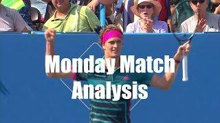 Citi Open VLOG, Zverev, Tsitsipas, Rublev, De Minaur, US Open Rankings | Monday Match Analysis
