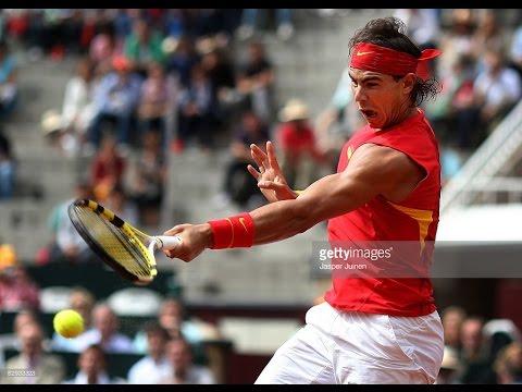 Nadal Vs Roddick - Davis Cup 2008 SF