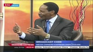 Weekend Express 10th January 2016 with KFCB CEO Ezekiel Mutua
