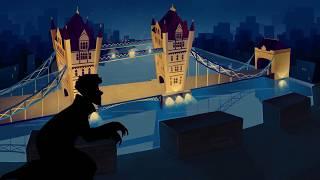 """IKOTIKA - """"Шерлок"""" - заставка к мультсериалу (часовая версия)"""