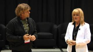 KBIS 2012 Multimedia Lounge: Eric Stromer and Cindy Dole