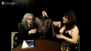 The Rev Mel Show with guest Miss Tearious all about Sensual Latex