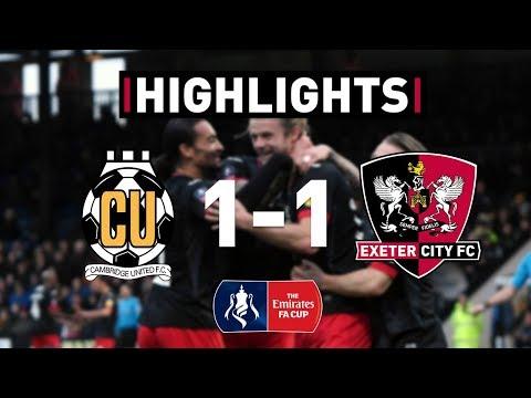 HIGHLIGHTS: Cambridge United 1 City 1 (9/11/19) Emirates FA Cup R1