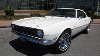 1968 White Chevrolet Camaro Walkaround