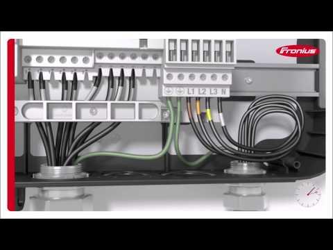 RENVU   How to install Fronius Symo Grid-Tie Solar Inverter