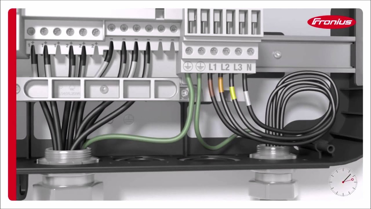Schema Cablaggio Rj12 : Renvu how to install fronius symo grid tie solar inverter youtube