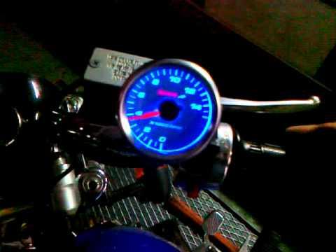 racing boy koso rpm meter monkey mp4 youtube