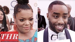 Team Issa or Team Lawrence? Yvette Nicole Brown, Marcc Rose, & More Answer! | NAACP Awards 2018