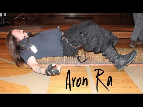 Aron Ra on a Bed of Nails at the Brew City Benefit | Rationalism | Atheist Underground Podcast