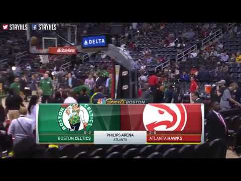 Boston Celtics vs Atlanta Hawks Full Game Highlights / Week 4 / 2017 NBA Season