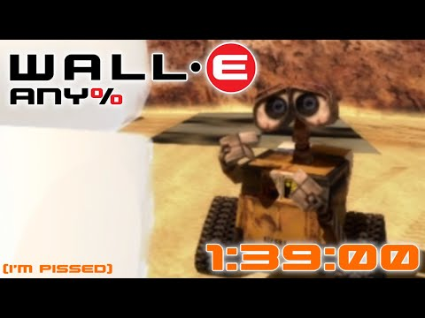 [WR] WALL•E (PC/PS2/PSP) Any% Speedrun in 1:39:00