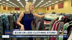 Get clothes for a few dollars a piece in Tempe