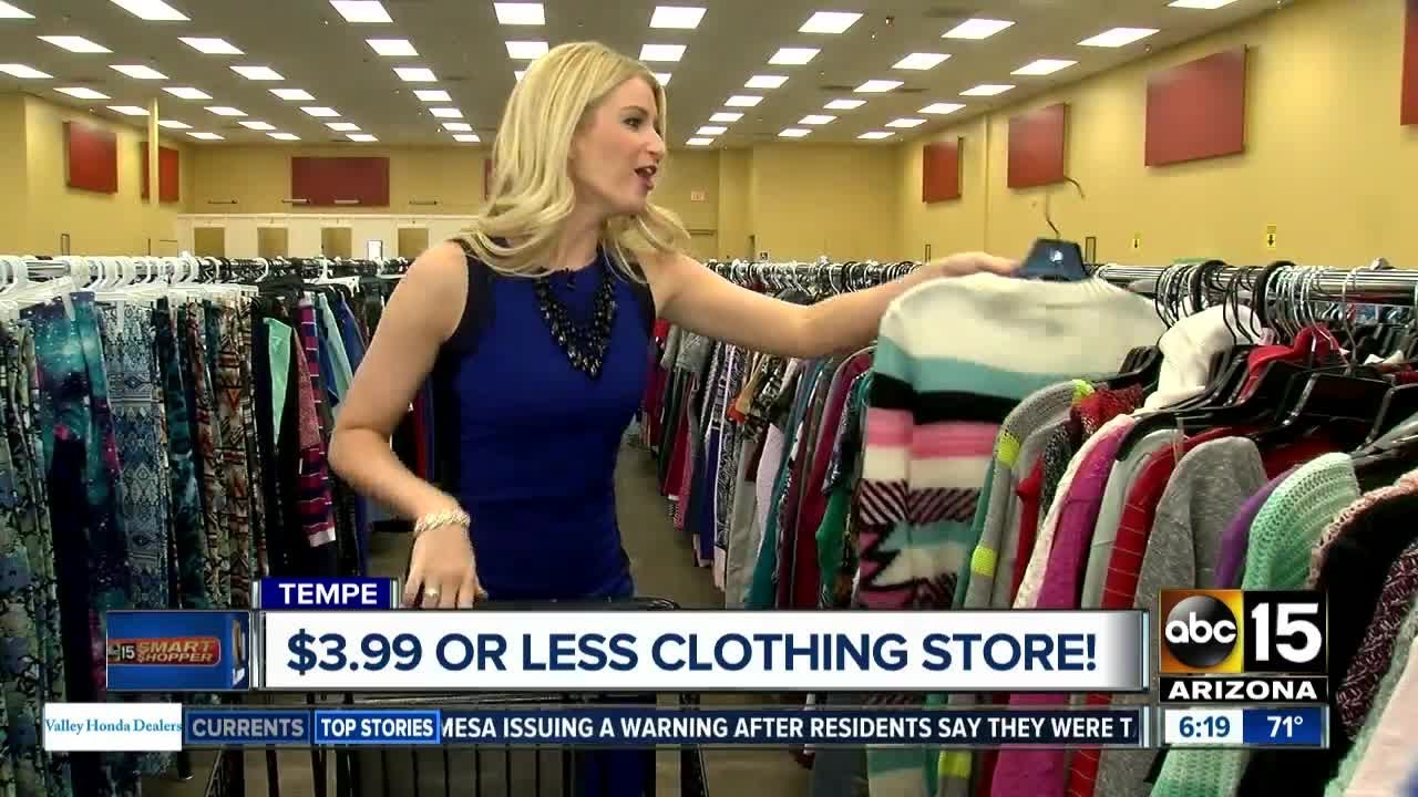 21b8a4231e0a Get clothes for a few dollars a piece in Tempe. ABC15 Arizona