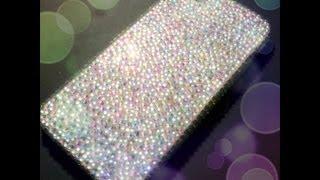 Repeat youtube video DIY gemstone encrusted iPhone case - Natalie's Creations